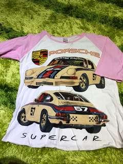Porsche 3/4 Sleeve
