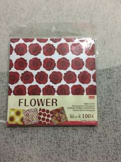 Daiso flower paper (100sheets)