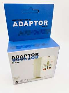 International Adaptor All in One Free Postage!