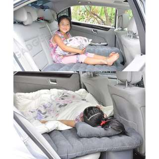 Inflatable car bed mattress