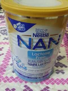 Susu Nan free lactose