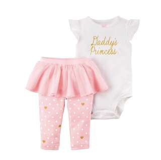 Daddy's princess tutu set