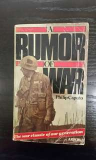 A Rumour of War By Philip Caputo