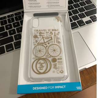 Authentic Speck Presidio Clear + Print ( with receipt from Beyond the Box)