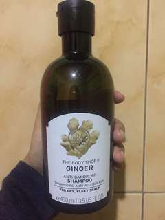 Shampo the body shop ginger