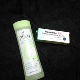 Pixy Cleansing Expert & Benzolac