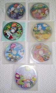巧連智二手DVD+CD中班