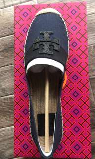 BN AUTHENTIC Tory Burch Espadrilles Flats SIZE 9 (with box)