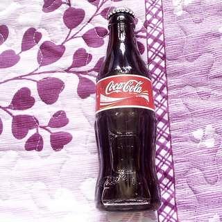 可口可樂04年匈牙利紙標 200毫升玻璃樽