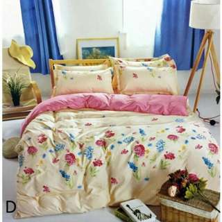 [FREE POSTAGE] Flower Series Fitted Queen Size Bed Sheet