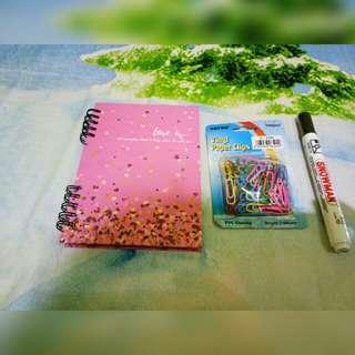 Note book dan spidol
