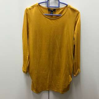 Mustard cotton top