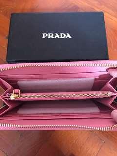Prada inspired Long wallet