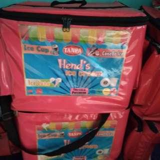 Ice pack box stearofoam
