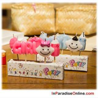 Creative Baby Birthday Cake Candles