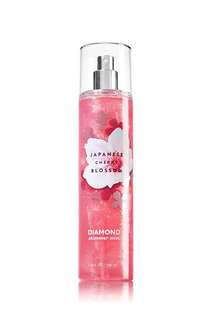 Bath & Body Works CHERRY BLOSSOM Diamond Mist