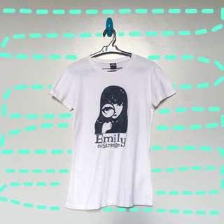 EMILY THE STRANGE GRAPHIC TEE