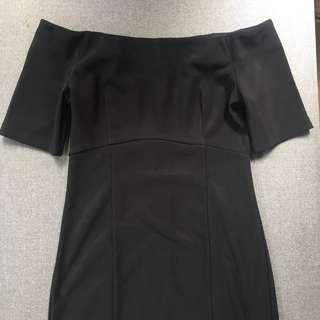 F21 off shoulder dress