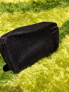 Black Rubi Pencil Case/ Makeup Bag