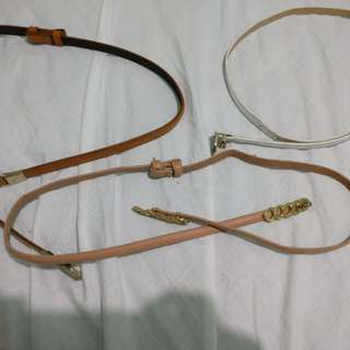 Belts (bundle) 3 pcs