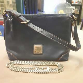 Dooney and Bourke Leather 2way sling