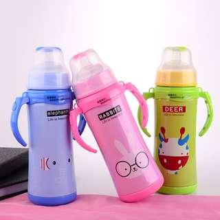Stainless Steel Thermos Milk Bottle 240 ml