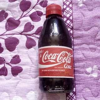 可口可樂95年英國Coke原味紙標250毫升玻璃樽