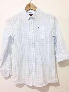 Esprit   Boy's Checkered Blouse   Size: M 128/134   100% cotton  