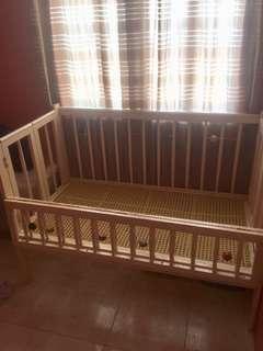 Wooden Crib/playpen