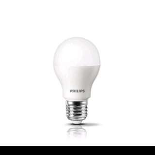 Philips LED燈泡,9w, 850流明,暖白3000K或白色6500K燈光