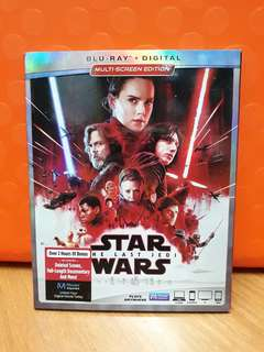 USA Blu Ray Slipcase - Star Wars Last Jedi