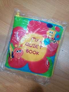 My quiet book cloth book
