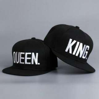 Set of 2 King And Queen Hats