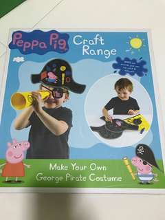 Peppa Pig pirate craft work