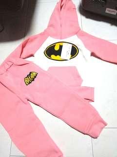 Batman Sets pullover and pants