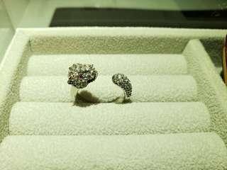 明星款經典鋯石戒指