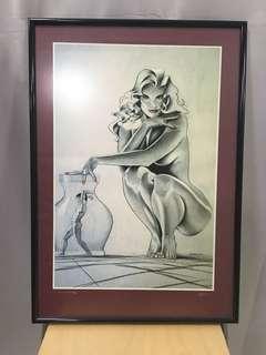 Framed Sketch