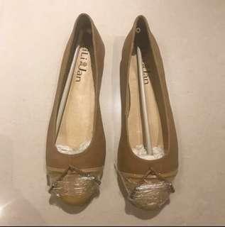 🚚 全新裸色氣質娃娃鞋24號