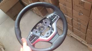 Elantra AD full leather steering with full controls
