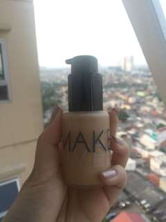 Make Over Liquid Matte Foundation (Pearl 08) - Makeover Ultra Cover