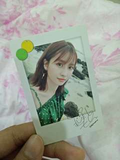 Twice momo Twicetagram official photocard