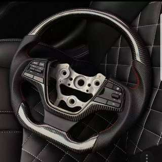 Elantra AD Dshape sport steering wheel with full control buttons