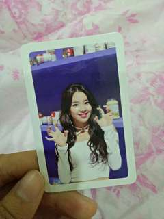 Twice merry and happy chaeyoung official photocard