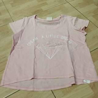 Cotton on pink t-shirt