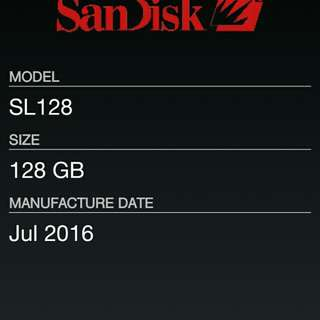 Sd card 128 gb