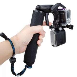 For Go Pro Accessories Shutter Trigger Floating Monopod Hand Bobber Grip Buoyancy Stick for GoPro HERO5 HERO4 HERO 5 4 3+ camera