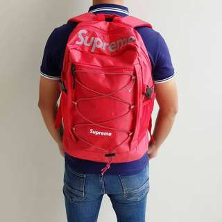 RANSEL BAG SUPREME RED 2403 PREMIUM QUALITY