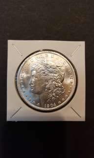 U.S Morgan silver Dollar.  1904 -0.