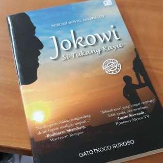 Novel biografi jokowi si tukang kayu. Best seller!