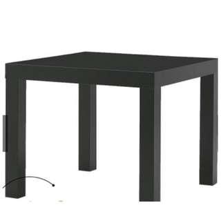 [FREE POSTAGE] LACK SIDE TABLE 55x55 BLACK